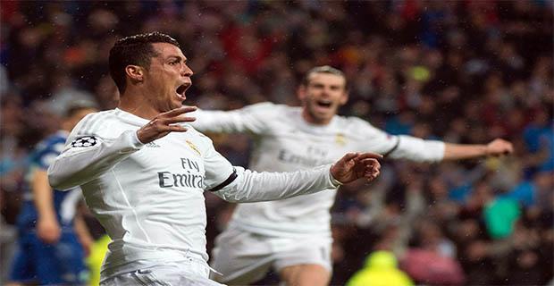 Ronaldo Hat-trick Madrid Amankan Tiket Empat Besar