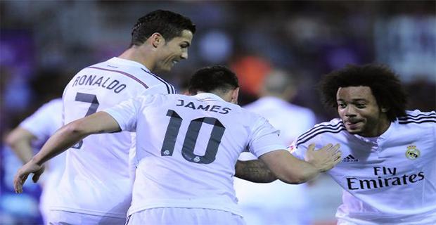 Dalam Tujuh Musim Berturut-turut Real Madrid Mencapai 100 Gol
