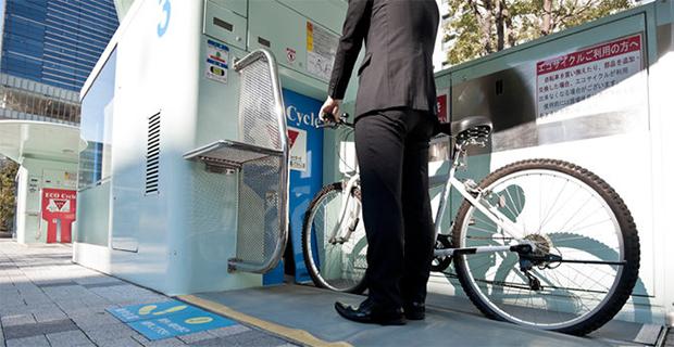 Di Jepang Terdapat Parkir Sepeda Bawah Tanah Yang Canggih