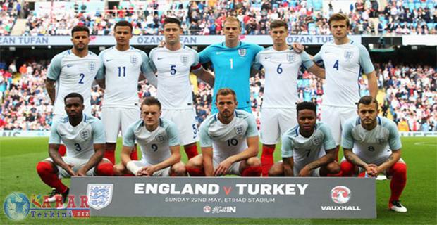 Ini Daftar Skuat Inggris Untuk Piala Eropa 2016