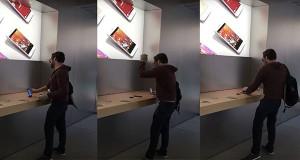 Seorang Pria di Prancis Mengamuk di Apple Store Serta Hancurkan Beberapa iPhone dan Mac