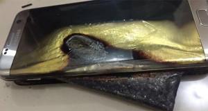 Samsung Galaxy S7 Edge Dikabarkan Kembali Meledak Saat di Charger