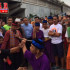 Berkunjung ke Kampung Waru Doyong, Anies Dihadang Palang Pintu