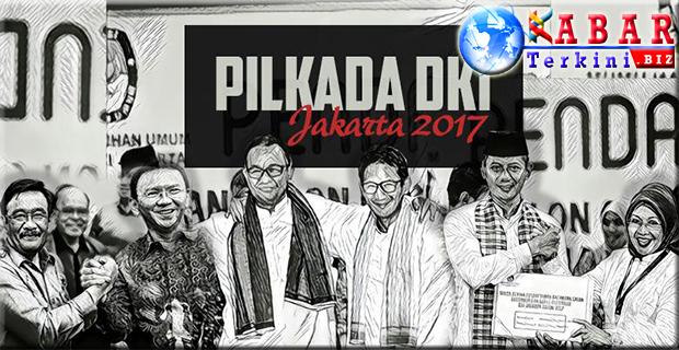 Hari Ini, KPU DKI Tetapkan Pasangan Cagub dan Cawagub Dalam Pilkada DKI 2017