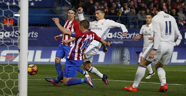 Hat-trick Ronaldo Membawa Madrid Benamkan Atletico