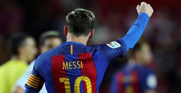 Messi Menorehkan 500 Gol Untuk Barcelona