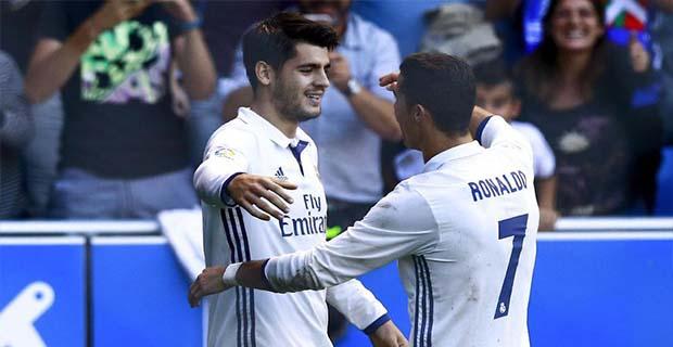 Morata Tidak Ingin Kalah dari Ronaldo