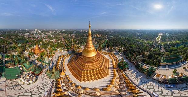 Berhias Emas Berlian, Shwedagon Paya Menjadi Pagoda Termegah di Dunia