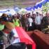 Diiringi Hujan, Jenazah Mar'ie Muhammad Dimakamkan Secara Militer