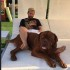 Roccuzzo Memberikan Hadiah Anak Anjing yang Lucu Kepada Messi