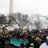 Rusuh dengan Polisi, Demonstran Anti Trump Ditangkap