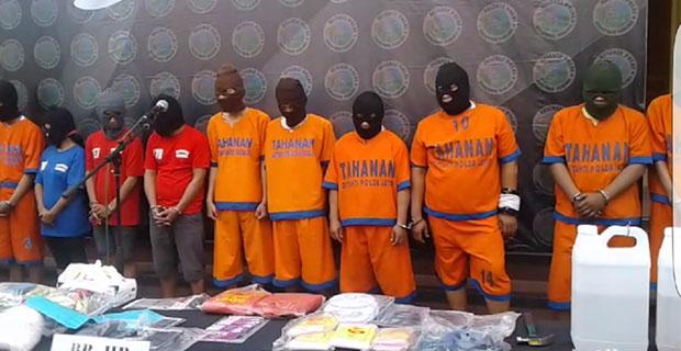Polisi Membongkar Jaringan Narkoba yang Dikendalikan dari Lapas Depok