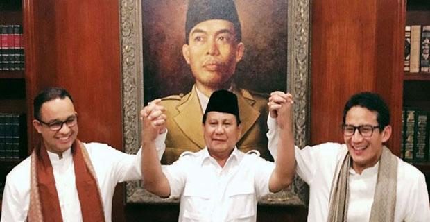 Prabowo Berkata Ada Orang yang Ikut Pilkada DKI dengan Cara Licik