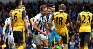 Arsenal Tumbang di Tangan West Brom 3-1