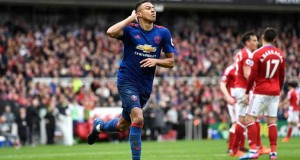 Manchester United Geser Arsenal Usai Melibas Middlesbrough 3-1