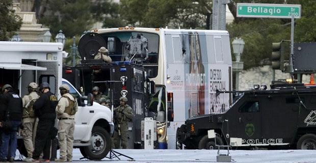 Penembakan dalam Bus Tingkat di Las Vegas Menewaskan Satu Orang