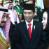 Raja Salman Bertemu dengan Megawati Soekarno Putri dan Puan Maharani