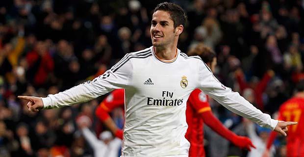 Penampilan Gemilang Isco Membawa Madrid Kalahkan Sporting Gijon