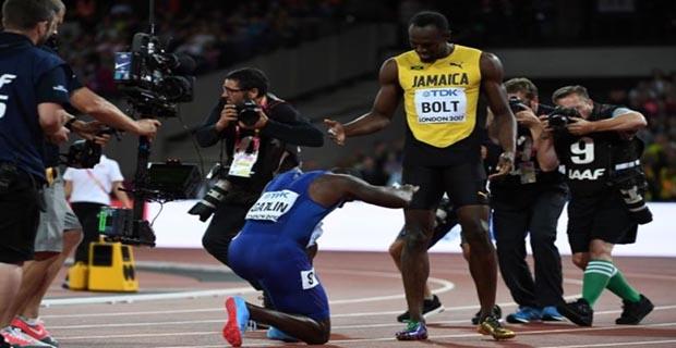 Dikarenakan Dirinya Mengalahkan Bolt, Gatlin Malahan Dapet Cemooh Dari Penonton