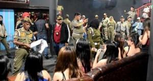 Puluhan Wanita Pekerja Malam terjaring Razia Satpol PP