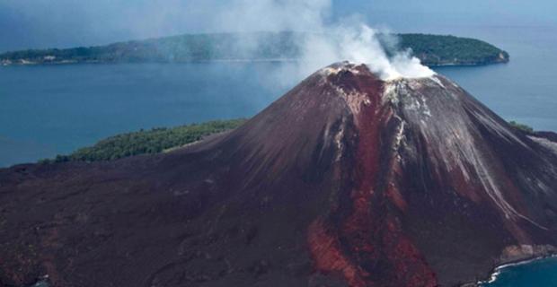 Gunung Anak Krakatau Status SIAGA